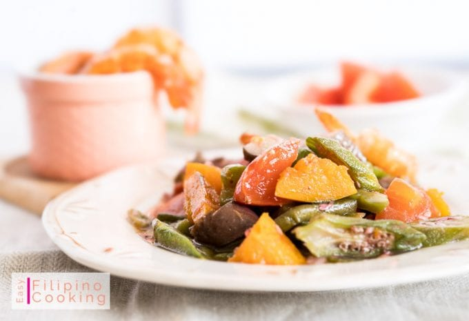 Picture of a plate of pinakbet