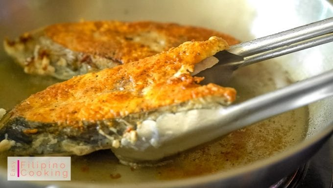 Image of fish fried to golden brown